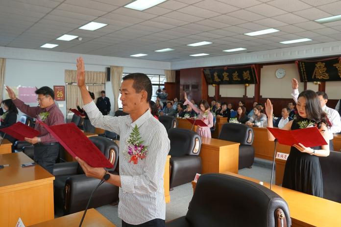 雲林<b>鄉鎮市民代表</b>就職 蔡咏鍀爭取全國總會長