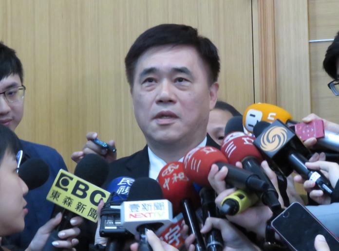 國民黨副主席郝龍斌。(圖/記者葉滕騏攝,2018.12.26)