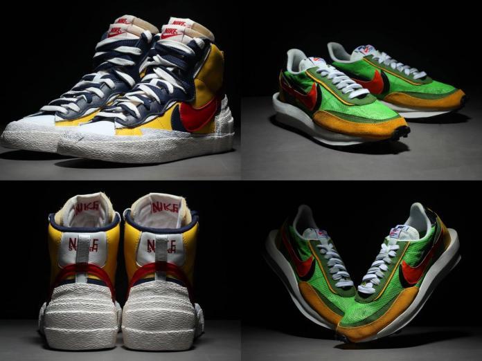 這兩款與Nike聯名推出的款式,分別為「Blazer與Dunk系列」綜合體、以及「Waffle Daybreak與LDV系列」的綜合體。圖@吳政遠臉書
