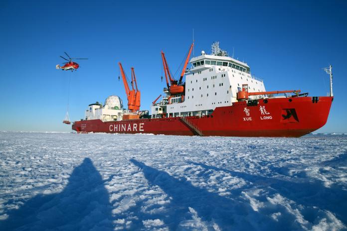 曾執行馬航370搜查任務 科考破冰船深入南極秘境