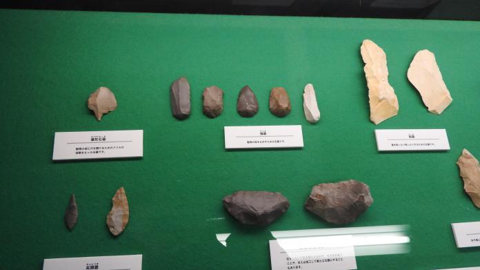 <br> 繩紋時代的石器。(圖/黃建霖設)