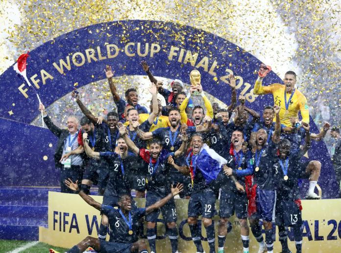 2018總回顧/世足法國二度奪冠 日本亞洲唯一16強