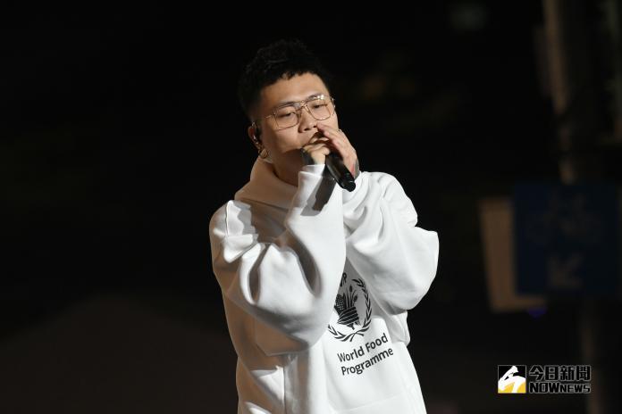 ▲蕭秉治在北市府跨年晚會帶來精采表演。(圖/NOWnews