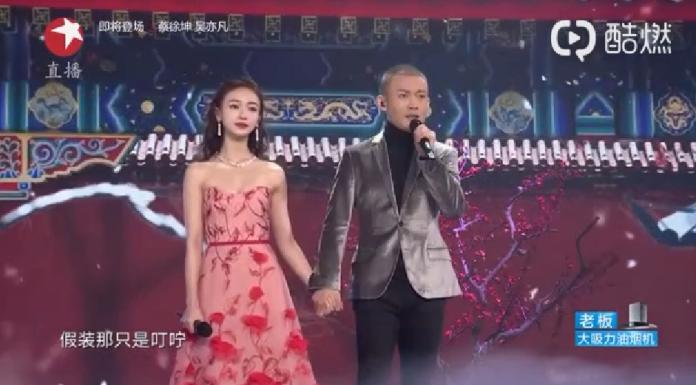 <br>  ▲聶遠與吳謹言獻唱《延禧攻略》主題曲。(圖/翻攝微博)
