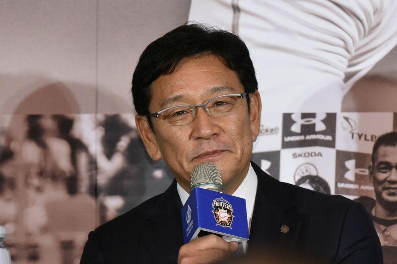 20181219 王柏融加盟北海道日本火腿鬥士台北記者會