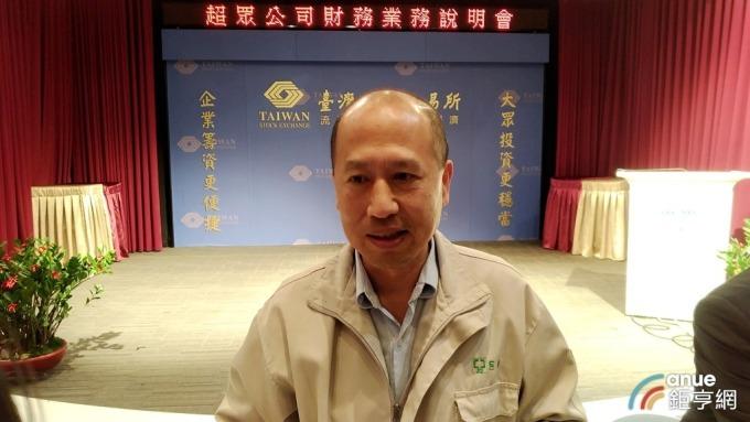 ▲ 超眾總經理郭大祺。(鉅亨網資料照)