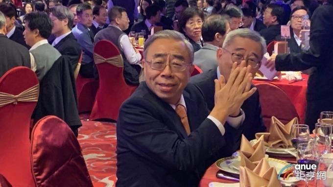 ▲ 台塑企業總裁王文淵。(鉅亨網記者林薏茹攝)