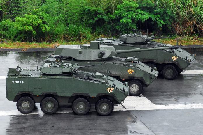 軍武/105公厘雲豹戰砲甲車 軍方:砲管可望在台研製