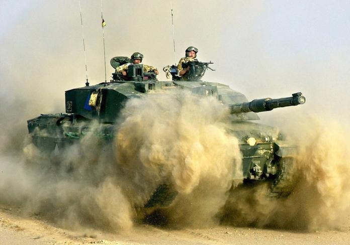 ▲英國陸軍挑戰者二式戰車。(圖/達志影像/美聯社)