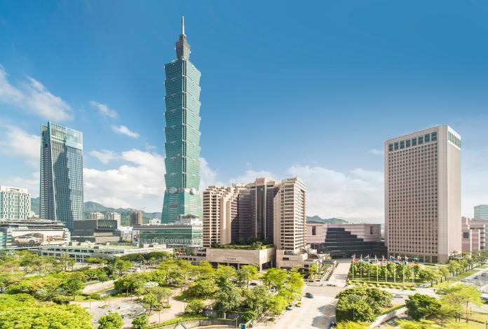 台北君悅酒店外觀