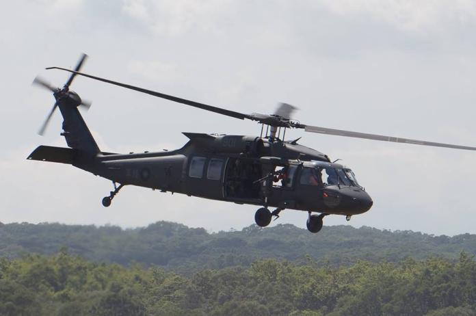 ▲陸軍航特部UH-60M 黑鷹直升機。(圖/記者呂炯昌攝)