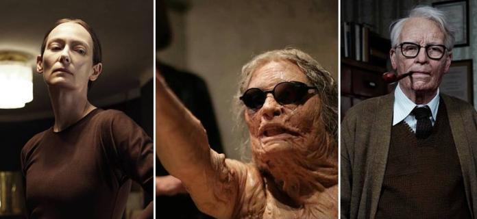 影/蒂妲史雲頓扮「老男人」 全身潰爛、裝假屌樣樣來