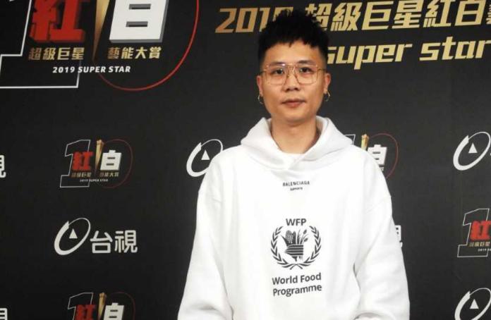 ▲蕭秉治登上《2019超級巨星紅白藝能大賞》。(圖/台視提供)