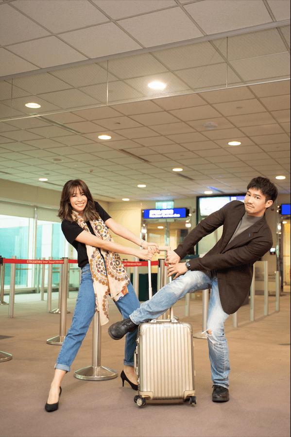 ▲「寵妻魔人」鄒承恩為了袁詠琳在MV中化身劈腿渣男。(圖/杰威爾音樂提供)