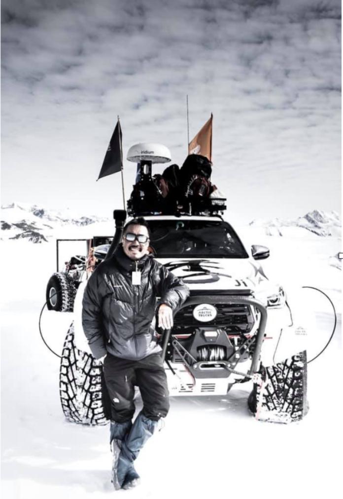 劉柏園南極長征筆記-1 南極冰原上的移動城堡 四季號