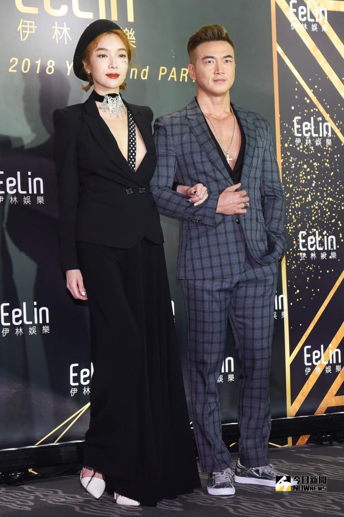 ▲蔡淑臻(左)、李沛旭7年情斷。(圖/資料照)