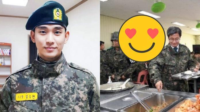 金秀賢最新軍中照曝光 網友笑噴:找得到是真愛