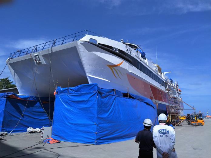 散裝貨輪航業鉅子藍俊昇 建新客輪雲豹藍鵲成功逆襲