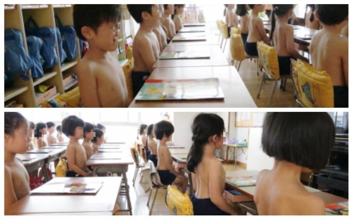 幼稚園規定學童裸上身 藉此「找回因文明而失去的力量」