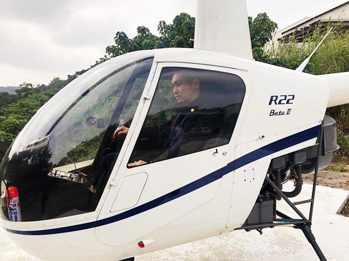 直播天王拍賣直升機 捐款助尋找「下個齊柏林」