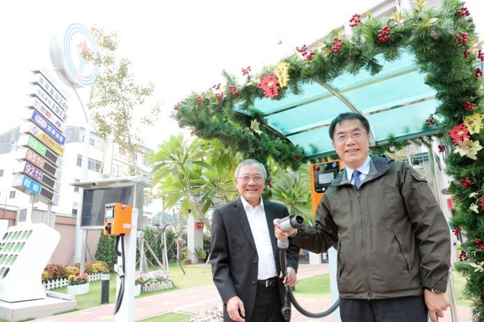 全台首座智慧綠能加油站在台南 108年2月開幕啟用