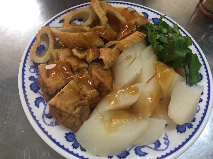 巷頭粿仔湯的小菜
