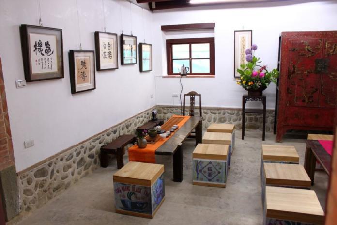 <br> ▲金廣福公館內部保存相當多的姜家老文物,。(圖/新竹縣政府提供)
