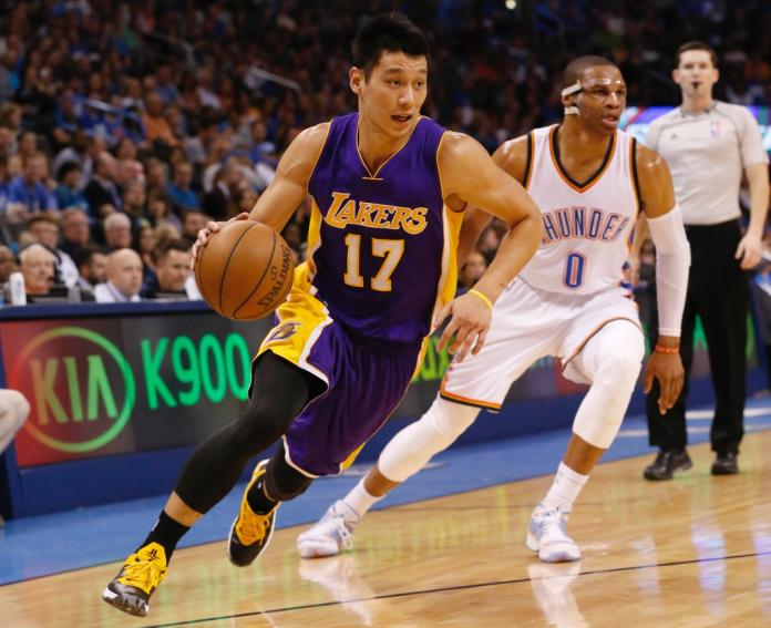 Jeremy Lin, Russell Westbrook
