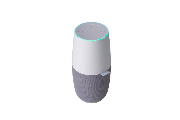 <br> ▲華碩首款智慧音箱「神隊友小布」。(圖/華碩提供)