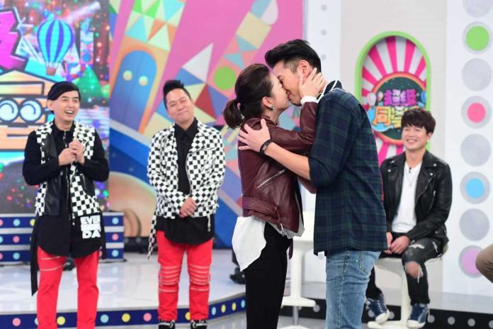 ▲六月、陳德烈真的吻了!(圖/華視提供)