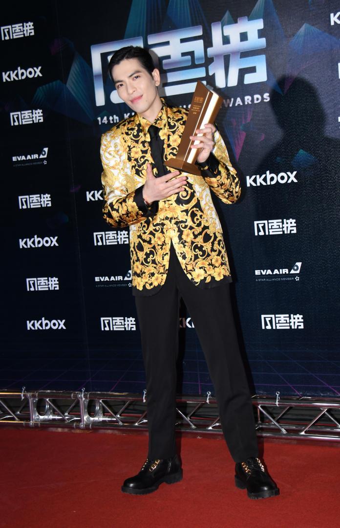 ▲蕭敬騰抱病上場表演,仍展現超常實力。(圖/NOWnews攝影中心提供)
