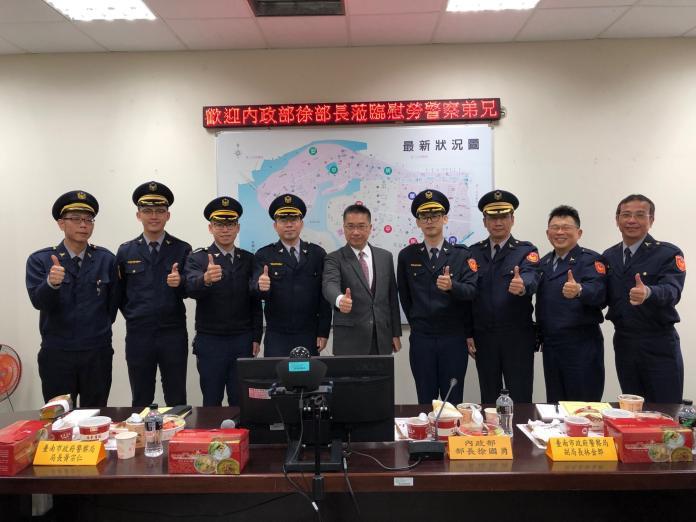 嘉勉台南基層員警 徐國勇:正義要靠法律來實現