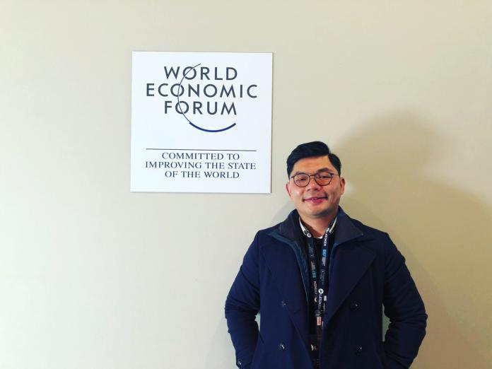 出席世界經濟論壇  許毓仁:用科技新創把台灣推向國際