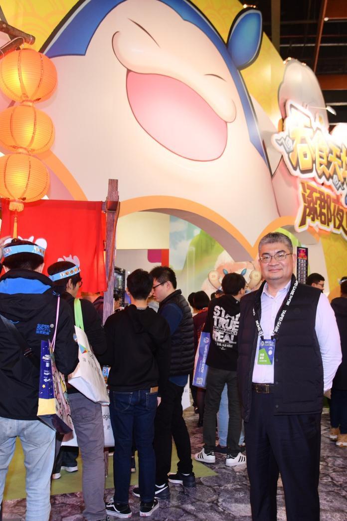 <br> 由中華網龍所設計的《吞食天地M》在去年9月12日上市後,就受到玩家熱烈支持。(圖/林柏年攝)