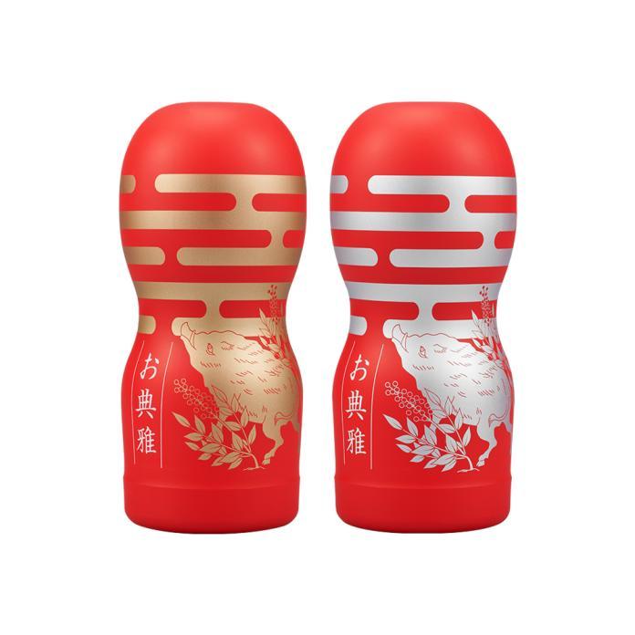 日本成人用品品牌tenga推出豬年紀念飛機杯,將採滿額方式贈送,只送不賣。(圖/Tenga提供)