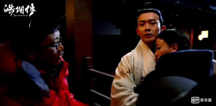 《皓鑭傳》聶遠老師在線教學吻戲 (1)