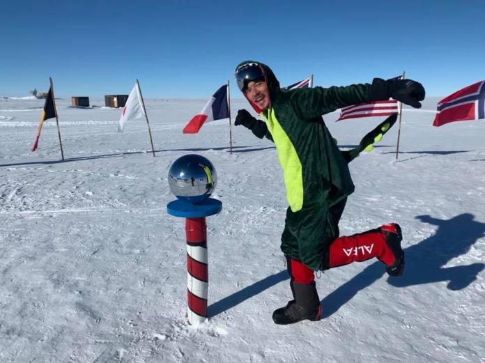 宥勝南極長征筆記-2 搞笑五大世界紀錄?