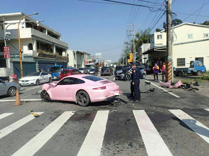 粉紅色保時捷