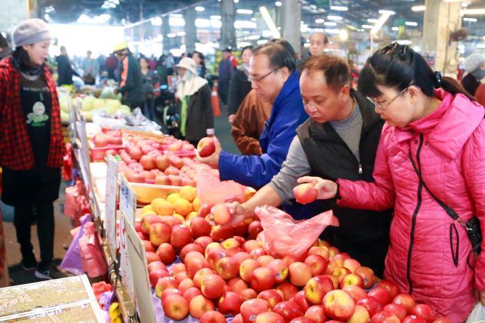 台南市春節蔬果魚肉供應充足無虞