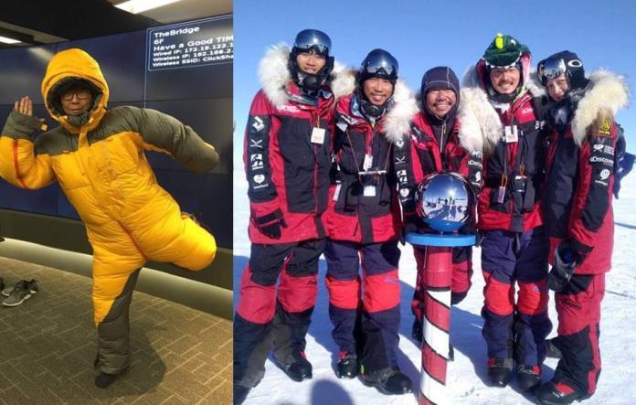 <b>楊力州</b>南極長征筆記-1 我變身「南極遠征隊」舞蹈擔當