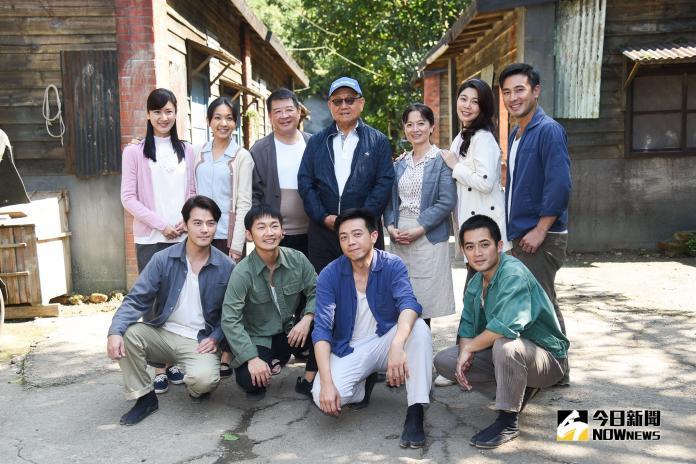 公視新戲《苦力》演員群。(圖/記者陳明安攝,2019.01.31)