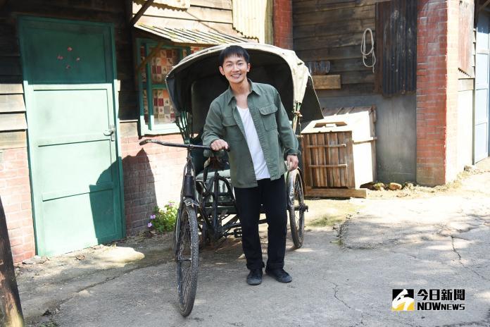 公視新戲《苦力》演員蔡昌憲。(圖/記者陳明安攝,2019.01.31)
