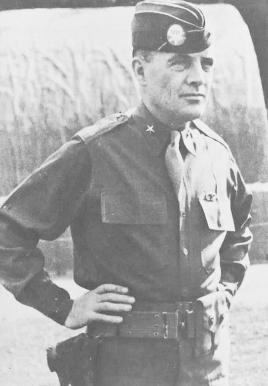 ▲面對德軍勸降,美軍指揮官麥奧利夫將軍(Gen. McAuliffe)回應「Nuts!」(瘋子)。(圖/維基百科)