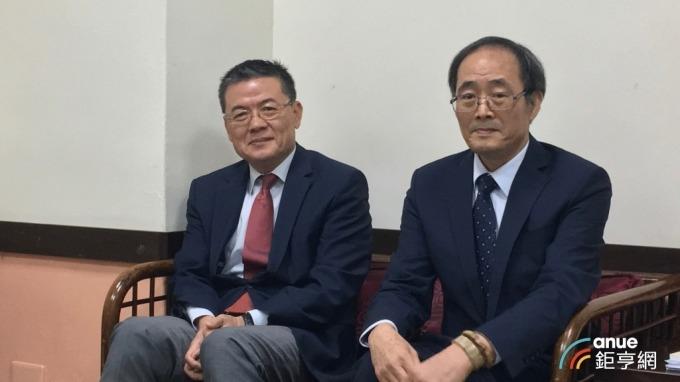 ▲ 榮化總經理劉文龍、董事長洪再興。(鉅亨網資料照)