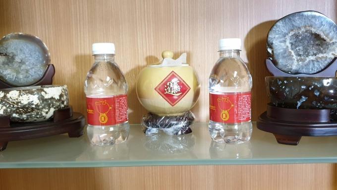 ▲ 發財水要放在財位上。(圖:易經財經專家陶文提供)