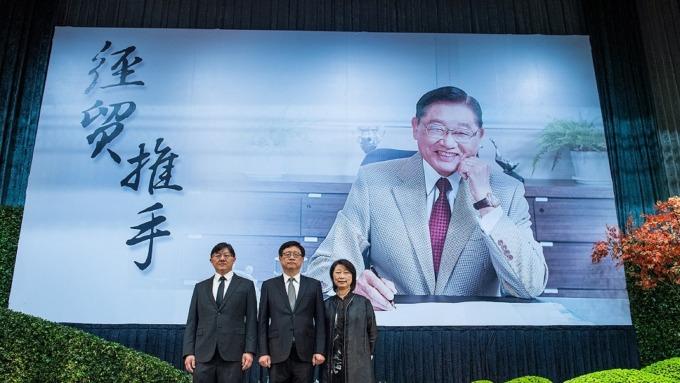 送<b>江丙坤</b>最後一程 海內外政商人士逾兩千人齊聚追思
