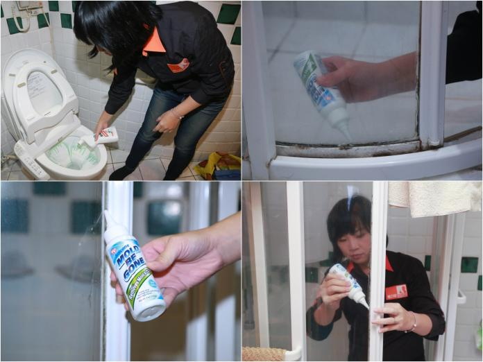 ▲浴室清潔要注意黴菌、馬桶溝縫。(圖/記者葉政勳攝影)