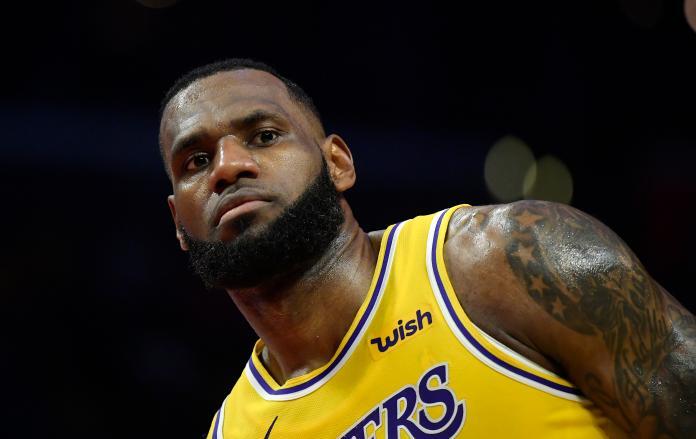 NBA/復出2場只是測試腳踝 湖人要詹皇健康回歸