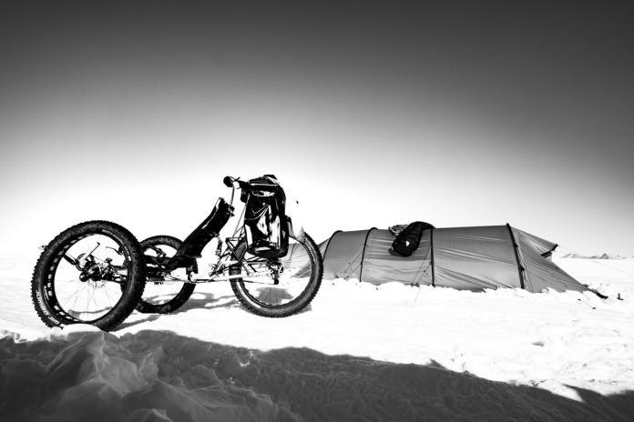 劉柏園南極長征筆記4—越野單車 小四季號