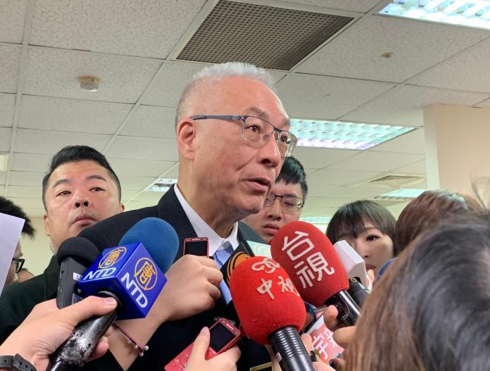 國民黨總統初選時程 吳敦義:按慣例最快四月、最晚七月